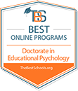 TBS Best Online Programs = Doctorate in Educational Psychology - TheBestSchools.org