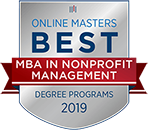 Online Masters Best MBA in Nonprofit Management Degree Programs 2019