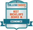 Top 25 Best Bachelor's in Economics Degrees | CollegeChoice.net, 2019.