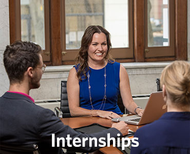 Prepare for internships through Regent University's career center.