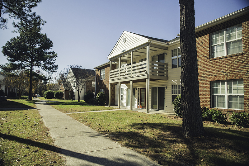 The Regent Village, Regent University's student housing in Virginia Beach.