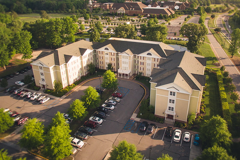 The Regent Commons is student housing for undergraduates.