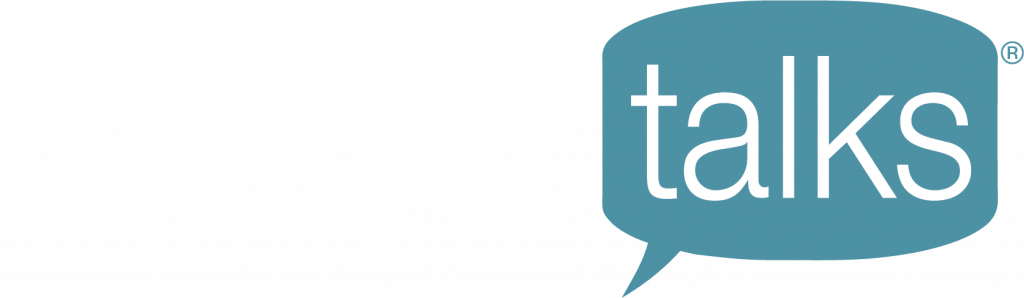 The logo of Great Talks® webinars presented by Regent University's Center for Christian Thought and Action.