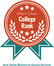 Regent University ranked #6 of the 20 best online masters in human services degree programs | CollegeRank.net