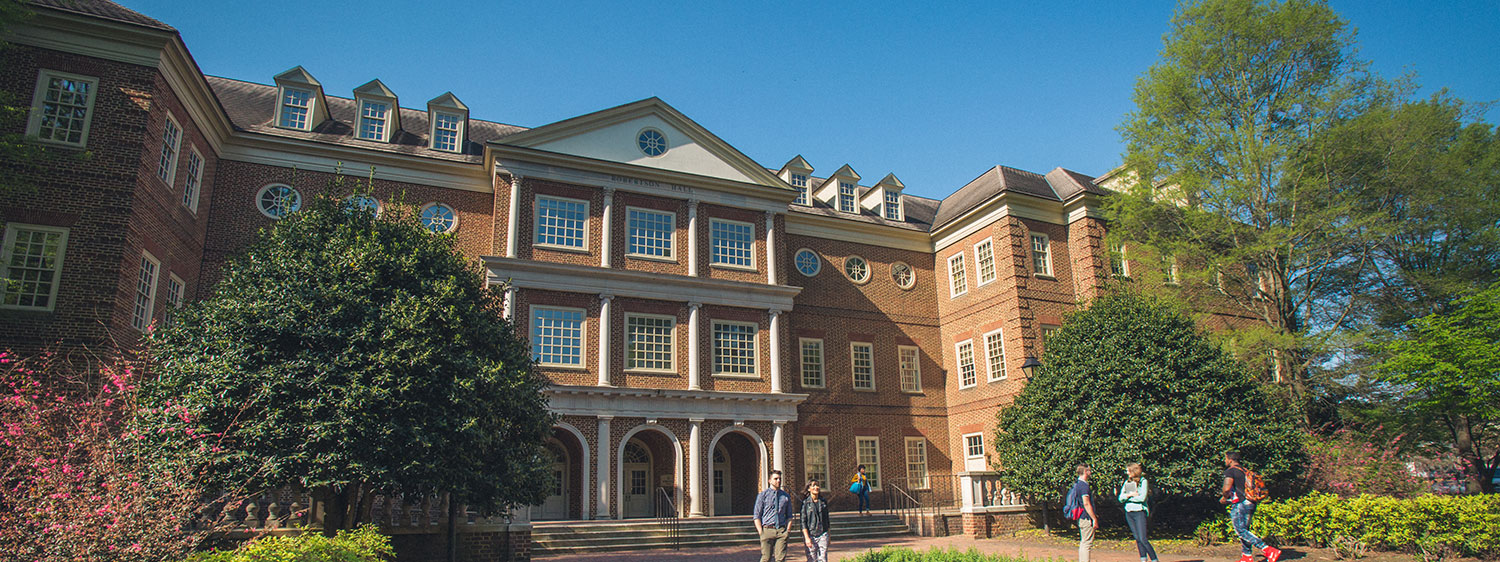 Robertson Hall, which houses Regent University's Robertson School of Government.