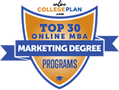 Regent University Ranked #17 on the Top 30 Online MBA - Marketing Degree Programs | OnlineCollegePlan.com