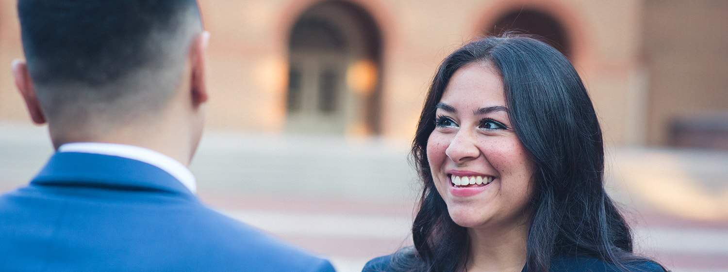 Graduates on campus: Explore the online MA in Law - Immigration Law program offered by Regent University.