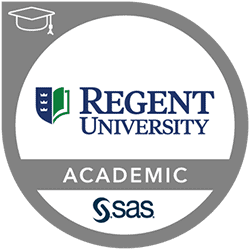 SAS-Regent University Academic Specialization in Business Analytics