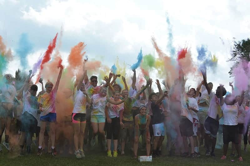 Regent University Color Run