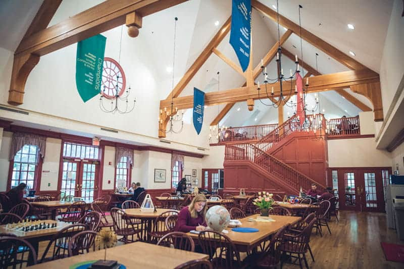 The Regent Ordinary, which provides dining services for the university.