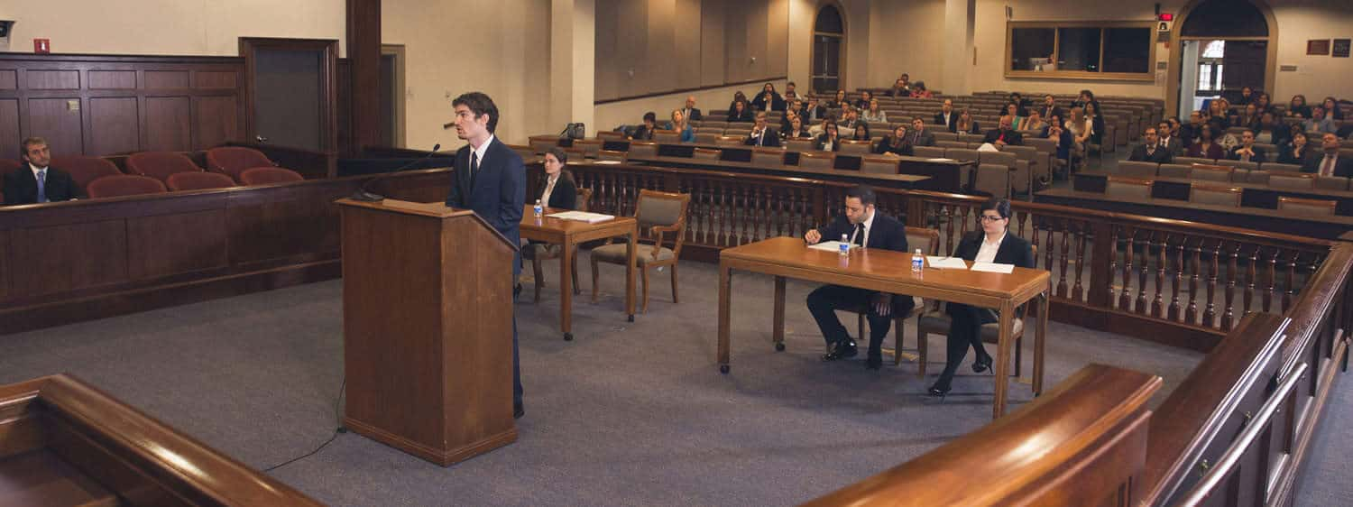 Regent University's law school career services office provides students with opportunities for career development.