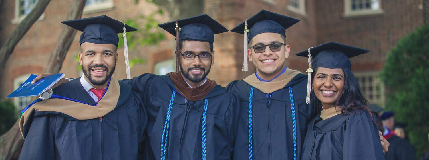 Regent University graduates on Commencement day.