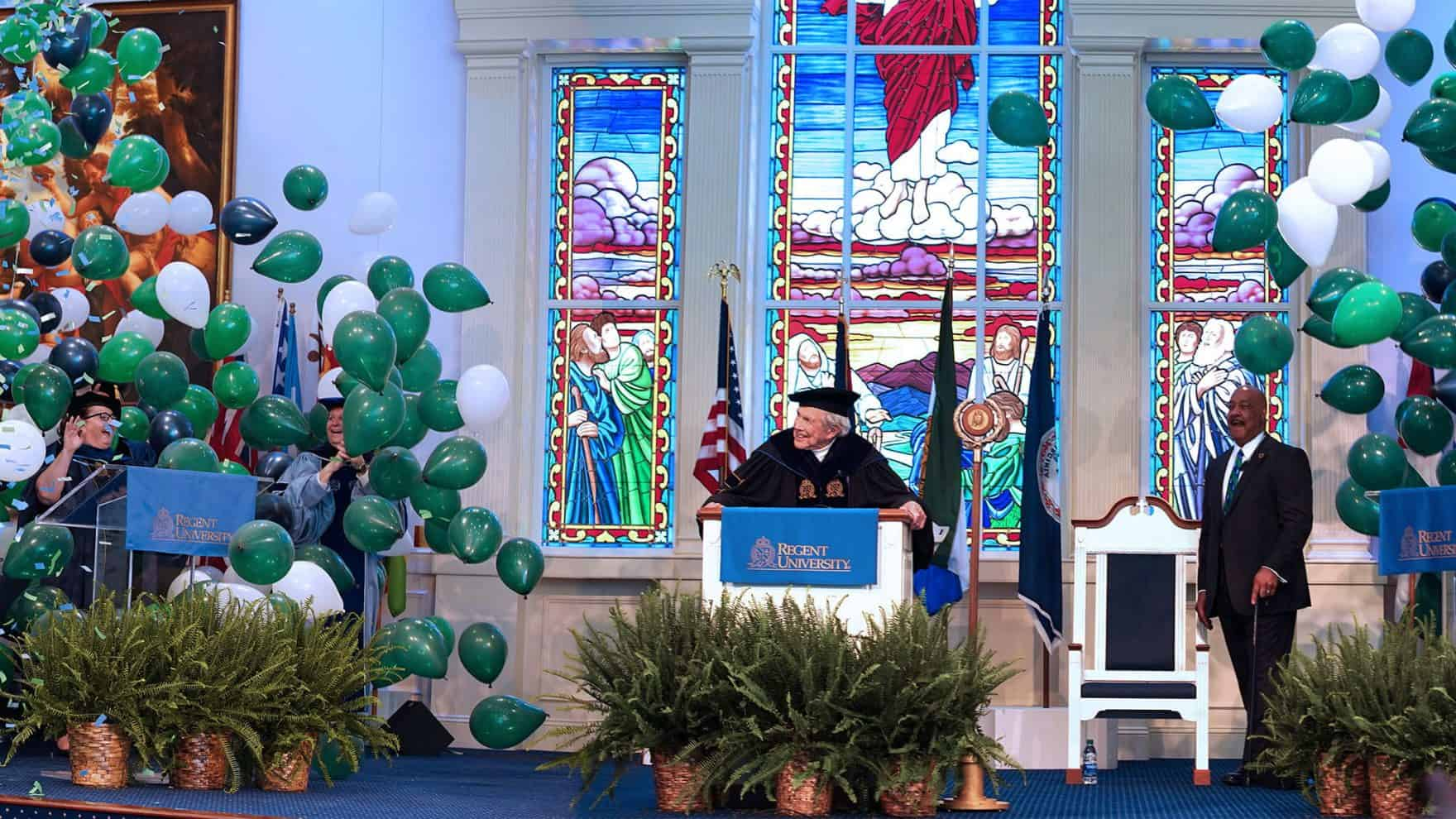 Regent University's Founder, Chancellor & CEO, Dr. M.G.